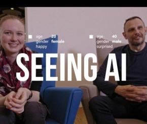 """""""Seeing Al"""", la nouvelle application développée par Microsoft pour les personnes déficientes visuelles."""