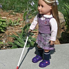 Connaissez-vous des jouets représentant le handicap visuel ?