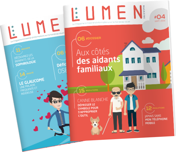 Deux magazines Lumen