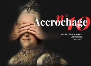 """Affiche de l'exposition """"Accrochage"""""""